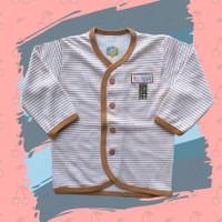 Baju Bayi Garis Panjang Abu Coklat S(3-6bln),M(6-9bln),L(9-12bln) Nova