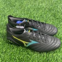 Sepatu bola mizuno original Morelia Neo 3 Elite FG black blue new2020