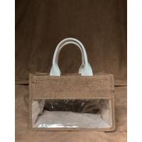 Souvenir Tas Tote Bag Goodie Bag Kanvas Goni Standar- Kombinasi Mika