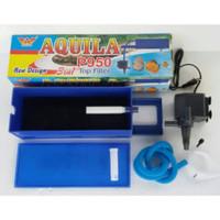 AQUILA top filter P950 filter box atas 3in1 P-950 P 950