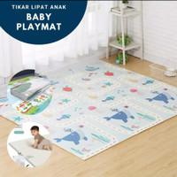 Playmat bayi lipat/matras bayi/playmat baby 180x200 free tas penyimpan