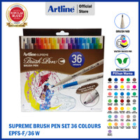 ARTLINE Spidol Supreme Brush Pen Set 36 Colours EPFS-F/36W