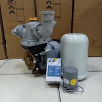 Pompa Air Sumur Dangkal HITACHI WP 200 NH Set Tabung SANYO KIP 3/8