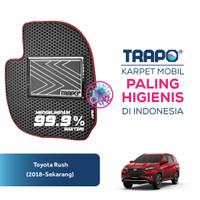 Karpet Mobil EVA Toyota Rush 2018 Trapo Indonesia - Fullset Saja