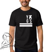 Kaos baju t-shirt pria premium yxgs younglex