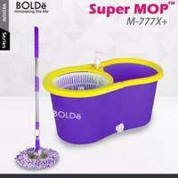 Bolde Super Mop 777X - Pel Putar Otomatis Dengan Bak