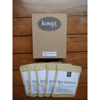 KoopiCoffee Drip box Coffee Arabica Bali Kintamani - 5 sachets