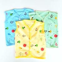 3 pcs baju bayi newborn kutung tanpa lengan
