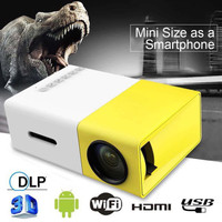 Mini Proyektor LED YG300 / YG-300 / YG 300 LCD Portable Projector Home