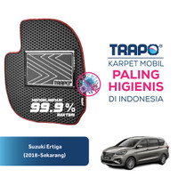 Karpet Mobil Eva Premium Suzuki Ertiga (2018-Sekarang) Trapo Indonesia - Fullset Saja