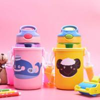 ARAMI Kids Tumbler w/ Lock Design Sling Bag Botol Minum Anak BPA Free
