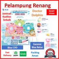 DOCTOR DOLPHIN Baby Neck Ring / Pelampung leher bayi / Ban Renang Bayi