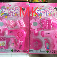 Mainan miniatur anak perempuan fashion set 431
