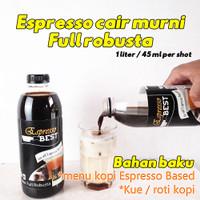 1 liter espresso murni - bahan baku usaha kopi / minuman viral