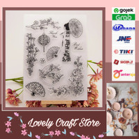 Transparent Silicone rubber Clear Stamp 19-cards, art craft, scrapbook