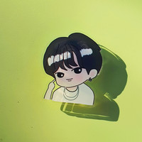 BTS BE Bangtan griptok pop socket acrylic life goes on jin Jimin Suga