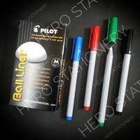 Pen ballpen pilot ball liner balliner medium 0.8 mm
