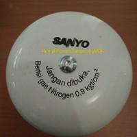 Tabung tangki pompa air sanyo isi gas nitrogen original Sanyo