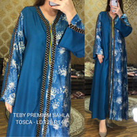 Daster Arab Premium Sahla Big Size Jumbo by Teby Original /Baju Wanit