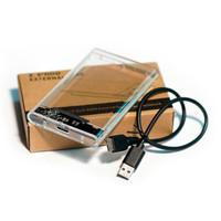 Casing Hardisk Eksternal 2.5 USB 3.0 Transparan-Case Ssd usb 3.0 -