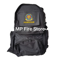 Tas Ransel Punggung Backpack Pemadam Kebakaran DAMKAR Hitam Besar