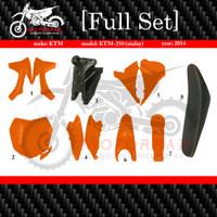 BODY FULL SET KOMPLIT KTM 250 SIXDAY TAHUN 2014