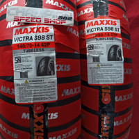 Ban Maxxis MA-F1STW Aerox 155 Depan Belakang 110/80 - 14 & 140/70 - 14