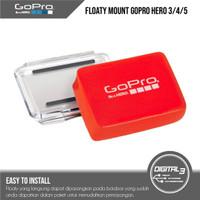 Gopro Floaty Mount Original With Backdoor Hero 3 4 5 6 7 Black