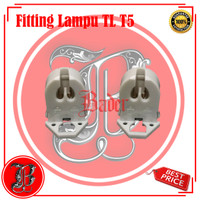 Fitting Lampu TL T5 untuk aquazonic