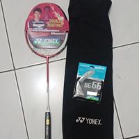 Raket Badminton Yonex Astrox 88 S D +bg66 Asean Premium Grade Ori