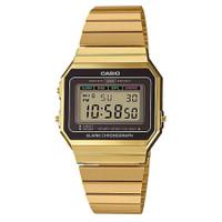 CASIO A700WG-9ADF - Jam Tangan Unisex - Gold