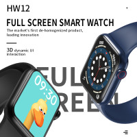 HW12 Apple Watch Smartwatch Apple iWatch 6 5 40 38mm Jam Tangan Pintar - HW 12, Biru