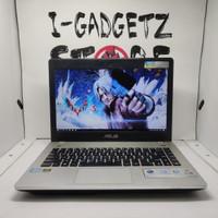 Laptop Gaming Asus N46V Core i5 Nvidia GT 740M 8GB SSD128GB+HDD1TB