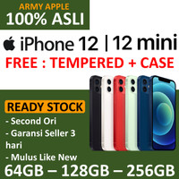 SECOND iPhone 12 / 12 Mini 64GB 128GB 256GB Black Blue Green Red White