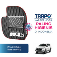 Karpet Mobil EVA Premium Mitsubishi Pajero Sport (2015-Sekarang) Trapo - Fullset Saja