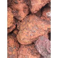 Batu Lava Rock Lava Rough Aquarium Aquascape isi 5 kg