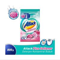 attack plus softener deterjen 800g