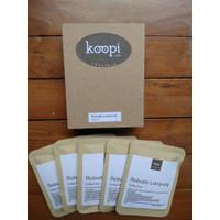 KoopiCoffee Drip box Coffee Robusta Lampung - 5 sachets