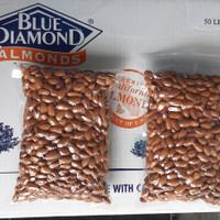 kacang almond mentah,raw almond blue diamond 1kg