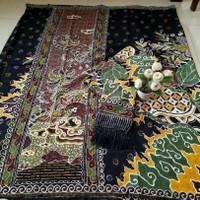 kain batik sarimbit keluarga tulis asli trusmi cirebon bahan doby dobi