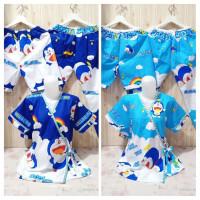 Setelan CP Piyama Kimono Wanita 3 in 1 L / XL Katun Motif Doraemon
