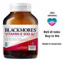 VITAMIN E 500IU BLACKMORES NATURAL E 150 CAPSULE -BALCKMORES VITAMIN E