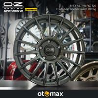 Velg Mobil OZ Original Superturismo LM Ring 17 Matt Graphite Silver Le