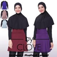 baju renang muslimah dewasa (kerudung panjang)