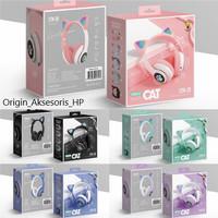 Cat Ear Headphones Bluetooth LED STN-28 / Ear Wireless Bando Cat