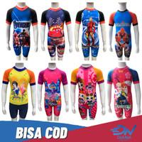 Pakaian renang diving anak bergambar kartun   baju renang anak gambar