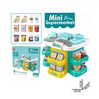 Mainan Anak Mini Supermarket 31pcs Kasir - Hijau