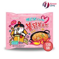 SAMYANG HOT CHICKEN RAMEN CARBONARA 130GR - MIE INSTANT PEDAS KOREA
