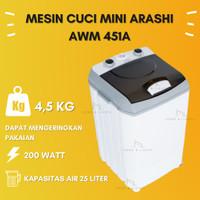 Mesin Cuci Portable Mesin Cuci Mini Arashi AWM451A