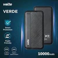 VOLTE Powerbank Verde LED 2.4A Ultra Light Slim 10.000 mAh